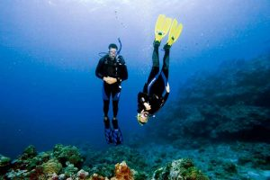 Perfect your buoyancy by signing up for the PADI Advanced dive Peak Performance Buoyancy